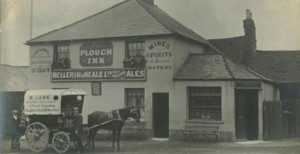 The Plough Pub built in 1600 in St. Johns, Redhill