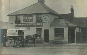 The Plough pub in St. Johns Redhill