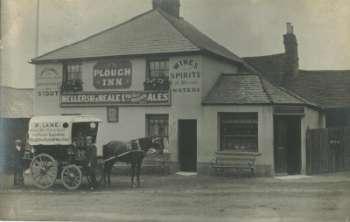 The Plough pub in St. Johns Redhill