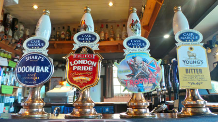 The Plough Guest Beers