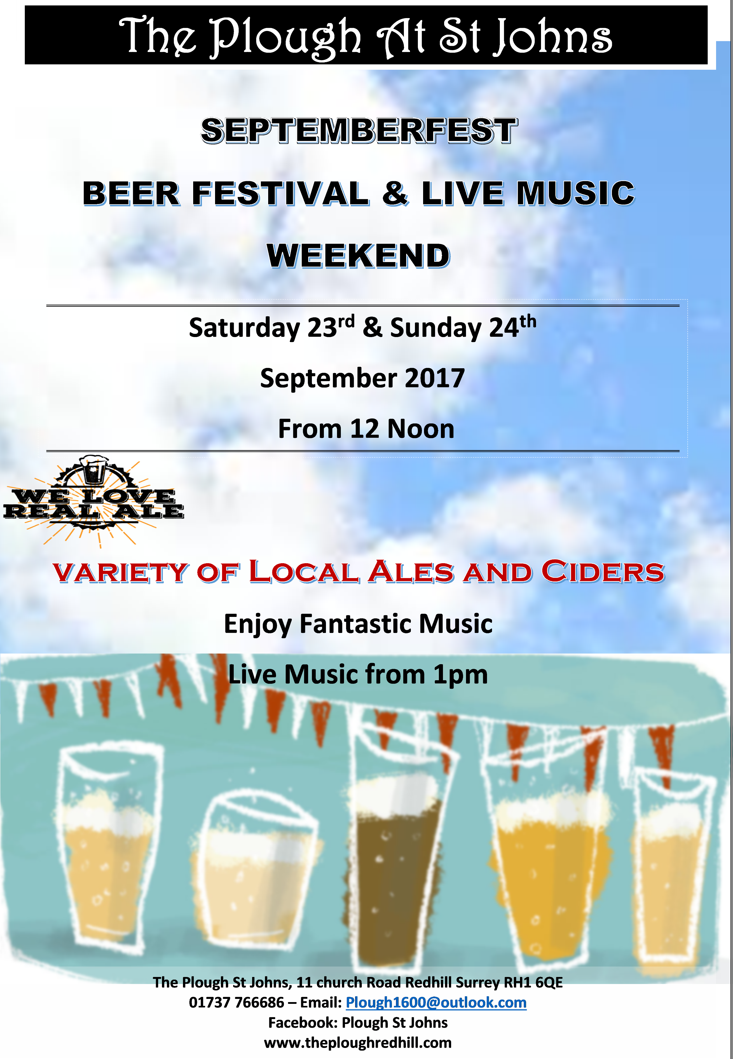 Events at the Plough