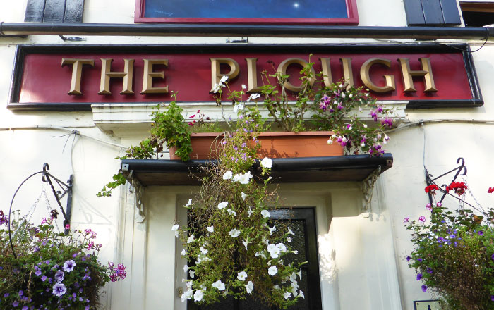 Contact the Plough and Bookings