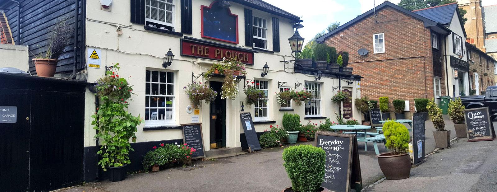 Plough Pub, St. Johns, Redhill, Surrey
